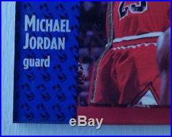 1991-92 Fleer Michael Jordan #29 Bulls 3D Acrylic Card Wrapper Redemption MINT