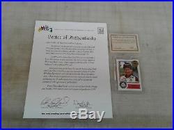 1994 Maxx Medallion 1988 Maxx Redemption Dale Earnhardt RC ROOKIE, #96/999