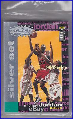 1995-96 Collector's Choice Crash The Game Sealed Redemption Set Michael Jordan