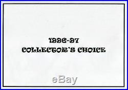 1996-97 Collector's Choice MICHAEL JORDAN Choose Your Card