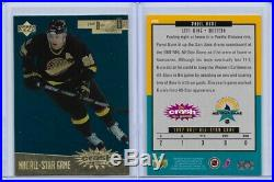 1996 97 Upper Deck Crash Game All Star Redemption + Redemeed Cards Pavel Bure NM