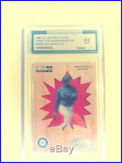 1996 Collector's Choice Crash the Game Redemption #CR26 Ken Griffey Jr. Graded 9