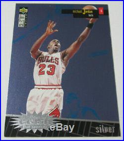 1996 Crash the Game Scoring Redemption Silver Michael Jordan #R30 Chicago Bulls
