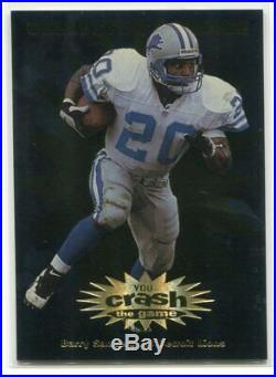 1997 Collector's Choice Crash the Game Redemption Prizes 21 Barry Sanders