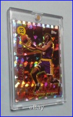 1997 Kobe Bryant Topps Draft Pick Redemption #DP13
