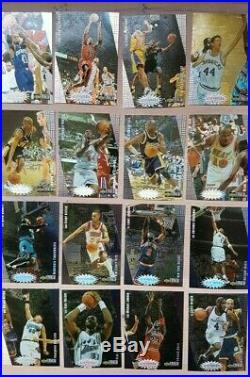 1997 Upper Deck You Crash the Game Scoring redemption Set 30 NBA Cards