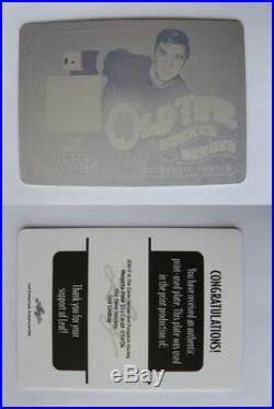2000-01 Crown Royale #11 Lemieux Mario 069/100 game jersey redemption RARE
