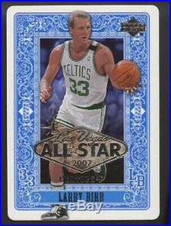 2007 Upper Deck Las Vegas All-star Game Larry Bird #as3 Very Rare Redemption