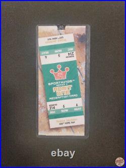 2009 Sportkings Reggie Jackson Admit One Redemption Cards 500th Homerun Sealed