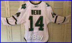 2010-11 Game Used Jersey Upper Deck Redemption Hit Coa Jamie Benn Dallas Stars