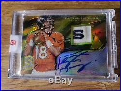 2013 Spectra REDEMPTION Peyton Manning Jersey/Auto #3 of 5