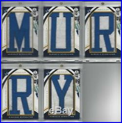 2016 Immaculate Demarco Murray Nameplate Nobility DALLAS COWBOYS Game Used LOT 5