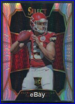 2016 Panini Select Patrick Mahomes Rookie RC 2017 Redemption XRC Chiefs MVP