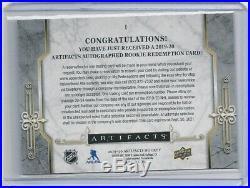 2019-20 Artifacts Rookie Redemption Autograph Pick I 1