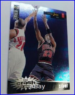 96-97 Coll Choice Crash the Game Redemption Silver #R30 Michael Jordan Series 2