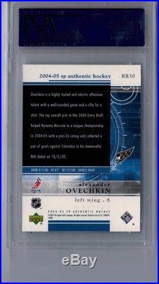 Alex Ovechkin SP Authentic Rookie Redemption Rookie /399 PSA 10 RARE