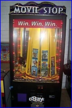 BayTek MOVIE STOP Arcade Redemption Game Machine Game Music Gift Card Ticket