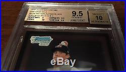 Bgs 9.5 Gerrit Cole Black Bowman Chrome 2010 Wrapper Redemption USA Auto /25