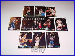Crash the Game Series 1 Silver Redemption 30 Card Set 1996-97 MJ Michael Jordan