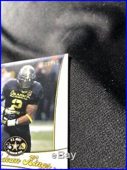 Derrick Henry Auto SP# /25 FIRST EVER AUTOGRAPH! 2013 Army Game RARE SP 1000$ BV