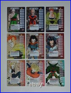 DragonBall Z Cell Saga Wrapper Redemption Promos 9x Collectible Card Game