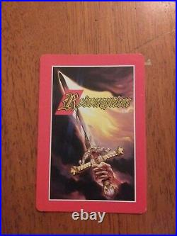 Extremely Rare Blank Redemption card ccg tcg bible card game