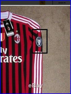 Futera FWF Redemption 2015 Thiago Silva Loanstars Game AC Milan Patch 10/25