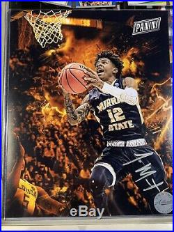 Ja Morant Panini National Redemption Signed Photo Murray State