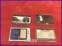 Joe Dimaggio 2002 Ud Game Used Jersey #8/25 Limited Redemption Memorabilia Mint