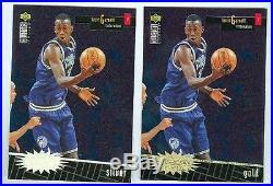 Kevin Garnett 1996-97 UD Crash the Game'96 Gold Redemption Card #R16 Lot of 100