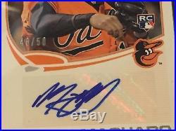 Manny MACHADO 2013 Topps SILVER SLATE Rookie Autograph /50 PSA 10 Redemption RC