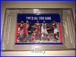 Michael Jordan 1991 Fleer 3-d Wrapper Redemption Acrylic All Star Game #237 Mint