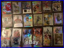 NFL x10 Card Short Print Game Used Memorabilia Autograph RC Patch x4Hit Hot Pack