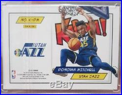 Panini Points Kaboom Redemption Donovan Mitchell Rookie Rc Gold Parallel 1/10 Sp