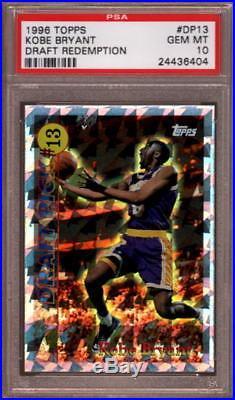 Psa 10 1996 Topps Redemption #dp13 Kobe Bryant Rookie (rc) Lakers Hof 2020 Hot