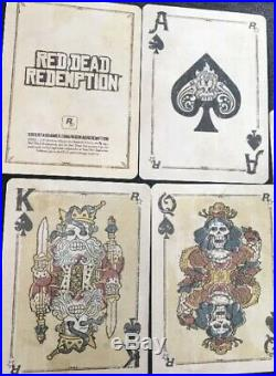 RARE New Rockstar Games Red Dead Redemption Playing Cards US Promo Sealed #3