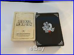 RED DEAD REDEMPTION Promotional Playing Cards Game Memorabilia Rockstar NEW Seal