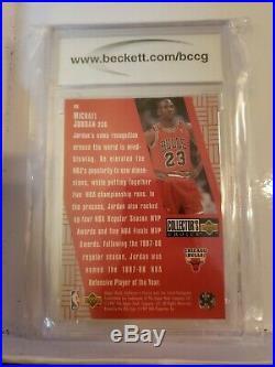 Rare Michael Jordan 1996-97 #r30 Crash The Game Scoring Redemption Bccg 9