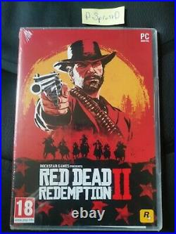 Red Dead Redemption 2 PC Physical Copy (Boxed Code Card) newithsealed