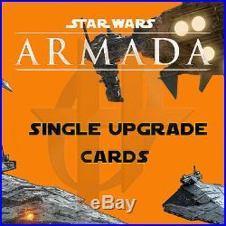 Star Wars Armada Upgrade Cards RETROFITS, TITLES & WEAPONS