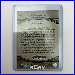Upper Deck Mage Knight Rebellion Redemption Card Mounted Elven General Mint