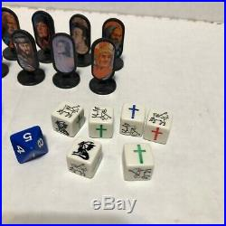 Vintage Redemption Board Game 1996 Replacement Parts Pawns Cards Dice Die